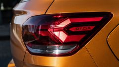 Dacia Sandero Comfort GPL: i gruppi ottici posteriori