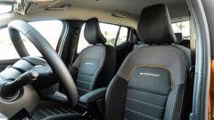 Dacia Sandero Comfort GPL: i sedili anteriori