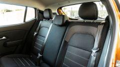 Dacia Sandero Comfort GPL: i sedili posteriori