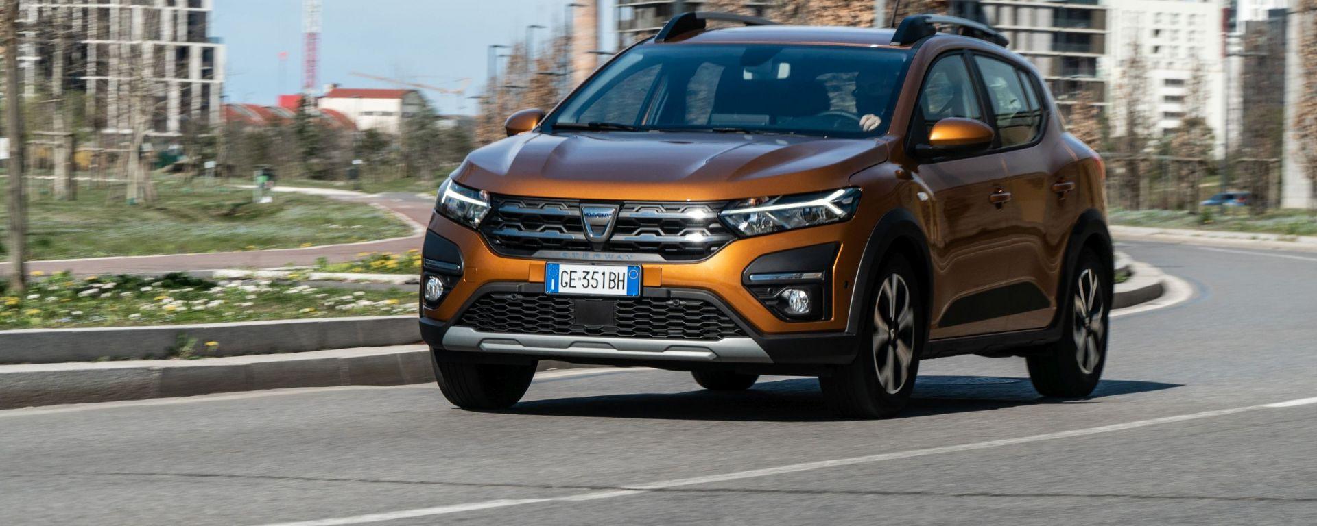 Dacia Sandero Comfort GPL: pratica ed economica
