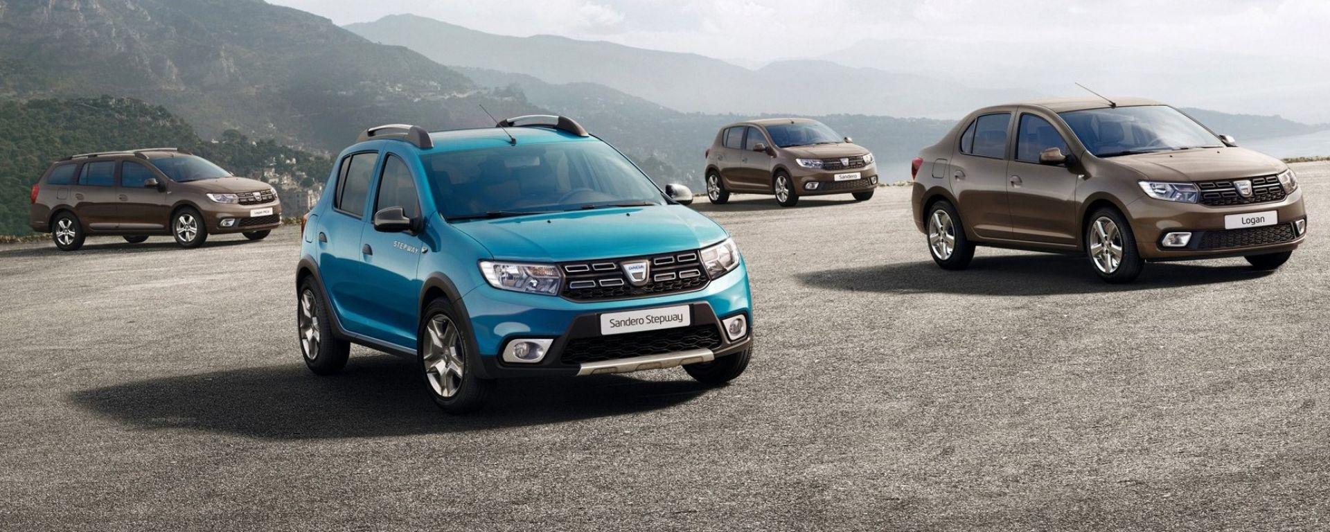 Dacia Sandero e Dacia Logan, restyling al Salone di Parigi