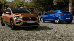 Dacia Sandero e Sandero Stepway 2021: prime foto. Come cambia