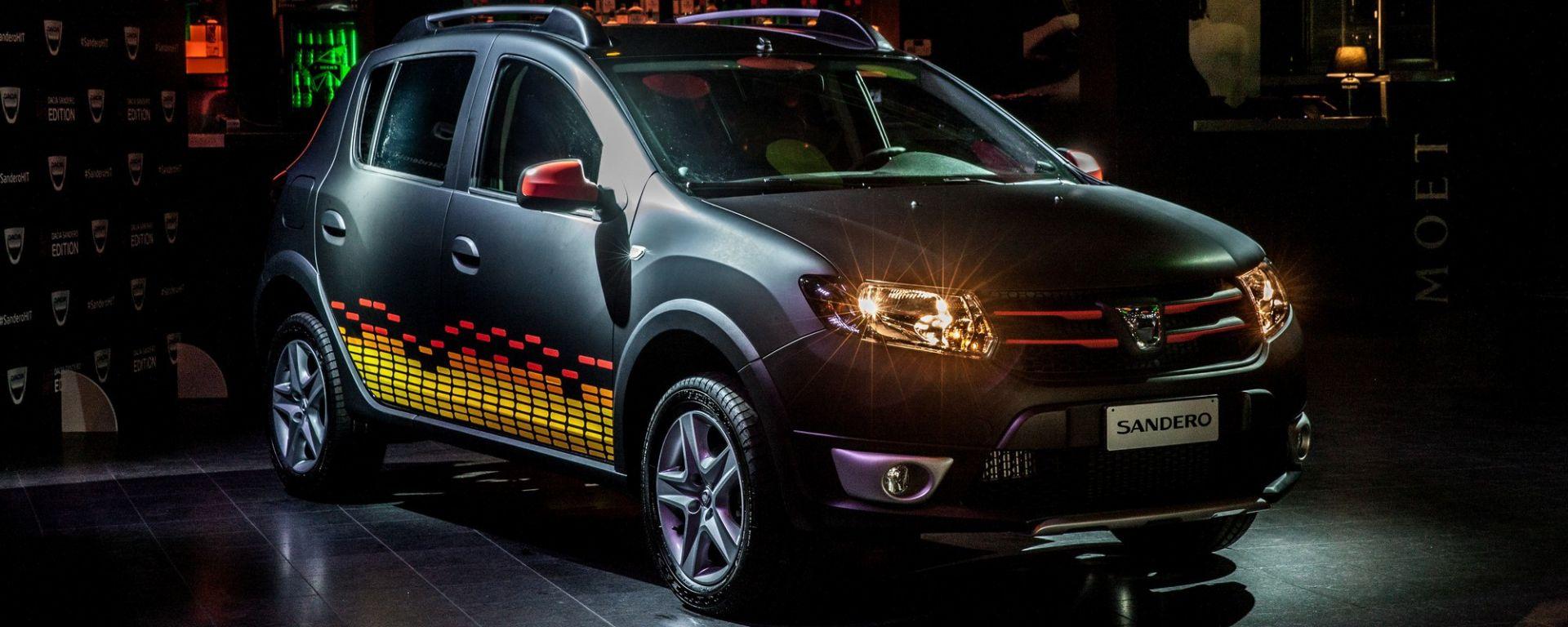 Dacia Sandero Hit Edition: una serie limitata a tutto volume