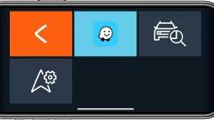Dacia Sandero, lo schermo della app Media Control