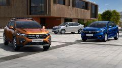 Dacia Sandero Sandero Stepway e Logan 2021