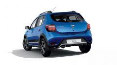 Dacia Sandero Stepway 15th Anniversary: vista 3/4 posteriore