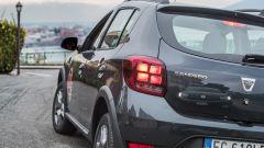 Dacia Sandero Stepway 2017: i fanali hanno un nuovo disegno delle luci