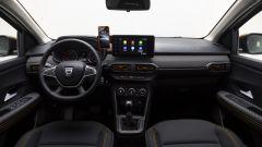Dacia Sandero Stepway 2021: l'abitacolo