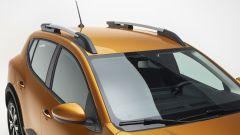 Dacia Sandero Stepway 2021: le barre sul tetto