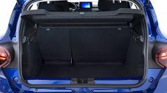 Dacia Sandero Streetway 2021: bagagliaio