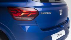 Dacia Sandero Streetway 2021: dettaglio posteriore