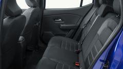 Dacia Sandero Streetway 2021: divanetto posteriore