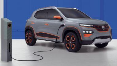 Dacia Spring: 100% elettrica