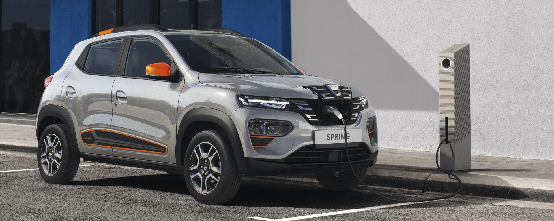 Dacia Spring 2021, il listino prezzi