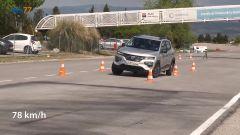 Dacia Spring al test dell'alce: più sicura di una Tesla? Video