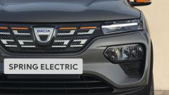 Dacia Spring, il frontale