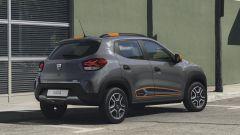 Dacia Spring, vista 3/4 posteriore