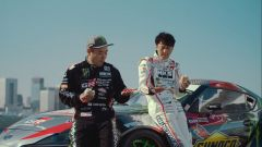 Daigo Saito e Nobutero Taniguchi, i piloti delle due Toyota Supra
