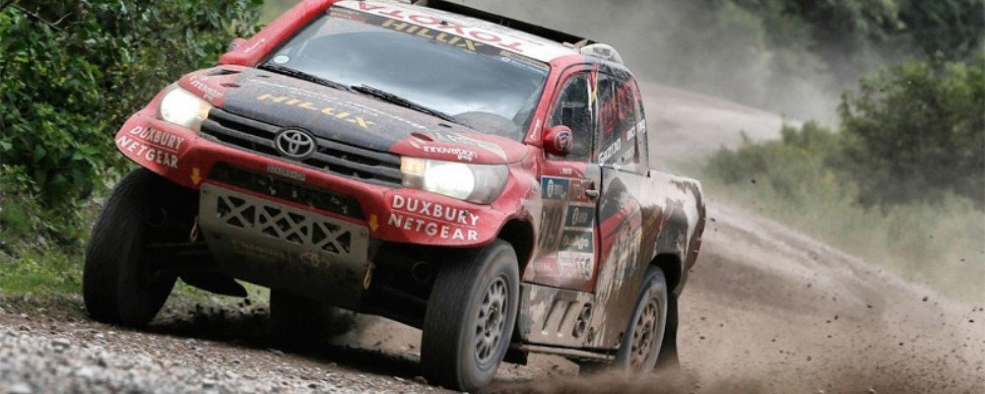 Dakar 2016 - Toyota Hilux Evo