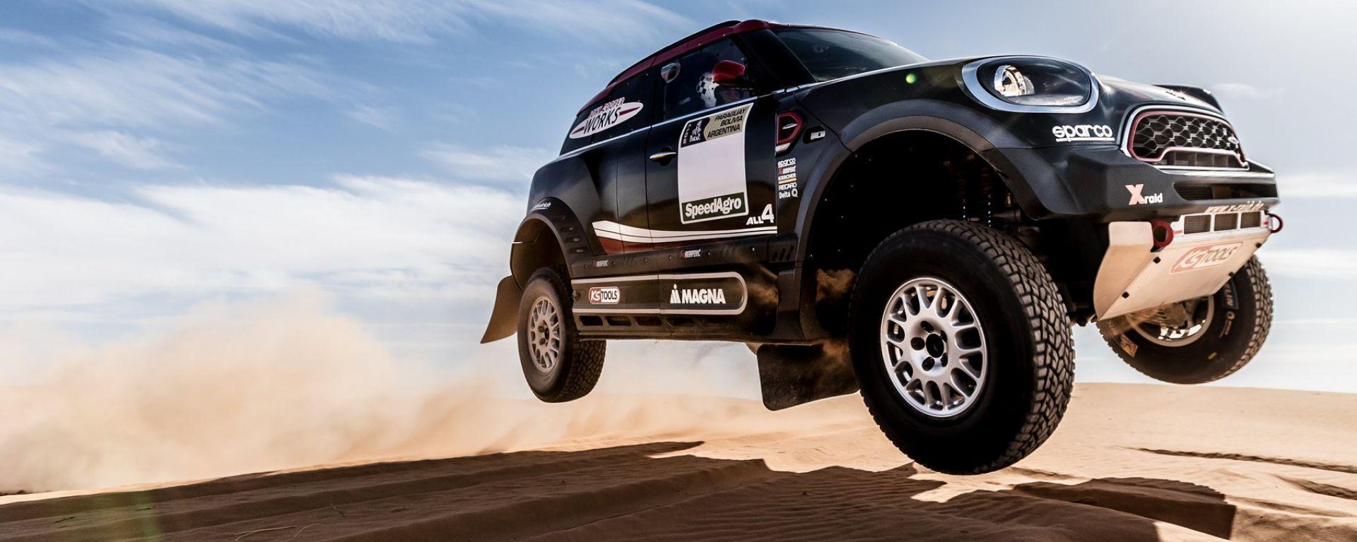 Dakar 2017: tutti i segreti della Mini John Cooper Works Rally