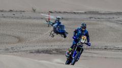 Dakar 2018, Adrien van Beveren inseguito dall'elicottero