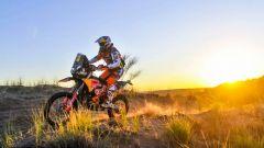 Dakar 2018, Matthias Walkner al tramonto