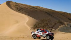 Dakar 2020, Tappa 1: Fernando Alonso e Marc Coma (Toyota)