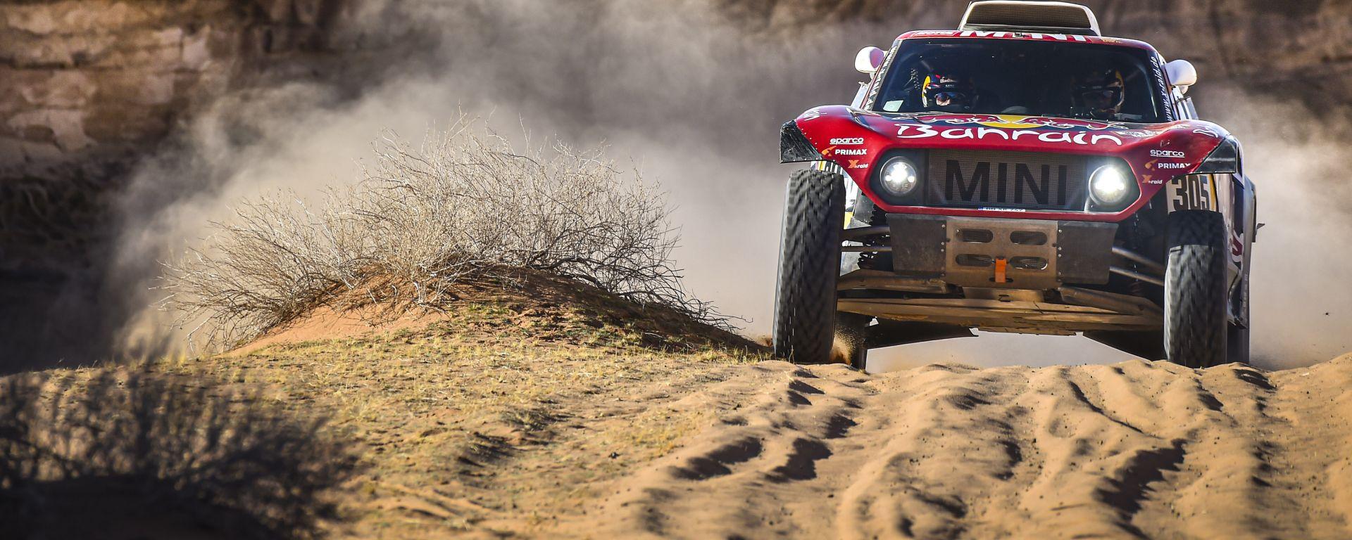 Dakar 2020, tappa 5: Carlos Sainz (Mini) [Foto: ASO]