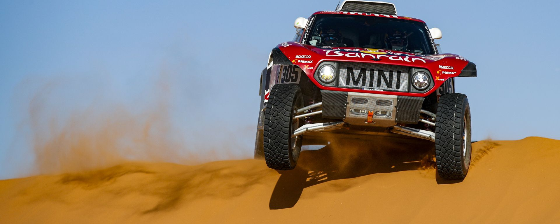 Dakar 2020, tappa 7: Carlos Sainz (Mini) [Foto: ASO]