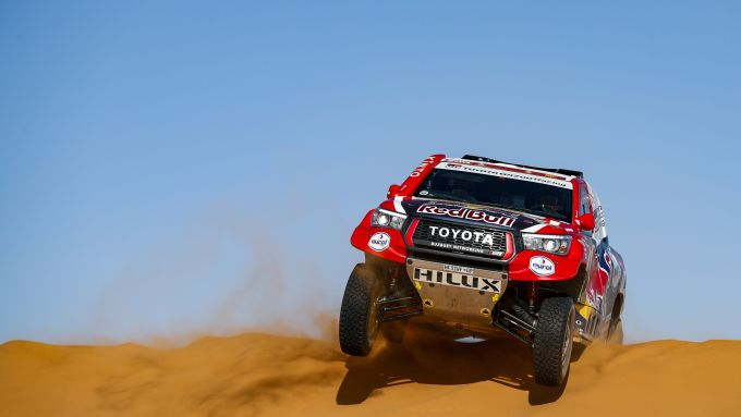 Dakar 2020, tappa 7: Nasser Al-Attiyah (Toyota) [Foto: ASO]