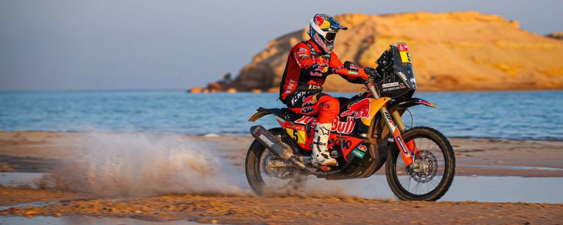 Dakar 2021, Sam Sunderland (KTM)