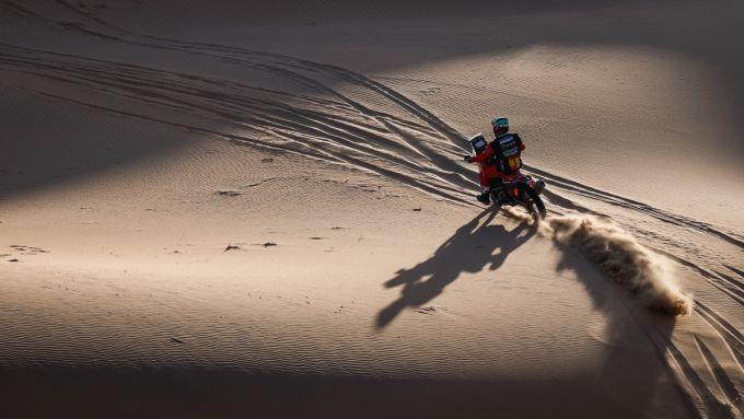 Dakar 2021, tappa 2: Ricky Brabec (Honda)