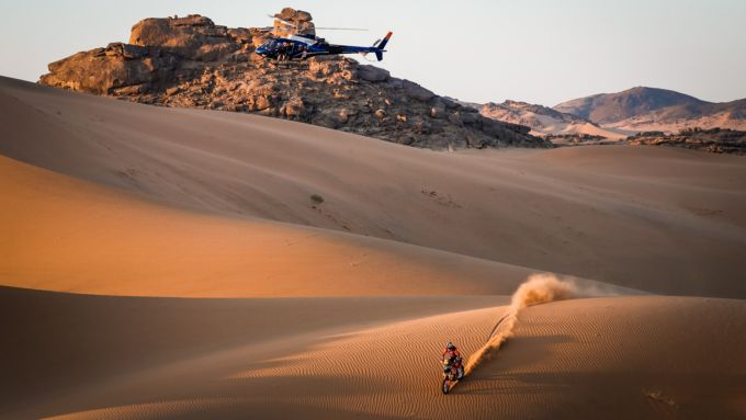 Dakar 2021, tappa 2: Toby Price (KTM)