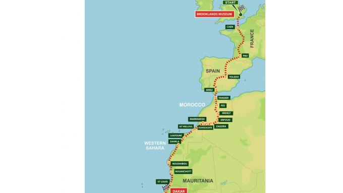 Dakar Enduro 2022: ecco il percorso della corsa che emula la Parigi-Dakar del passato