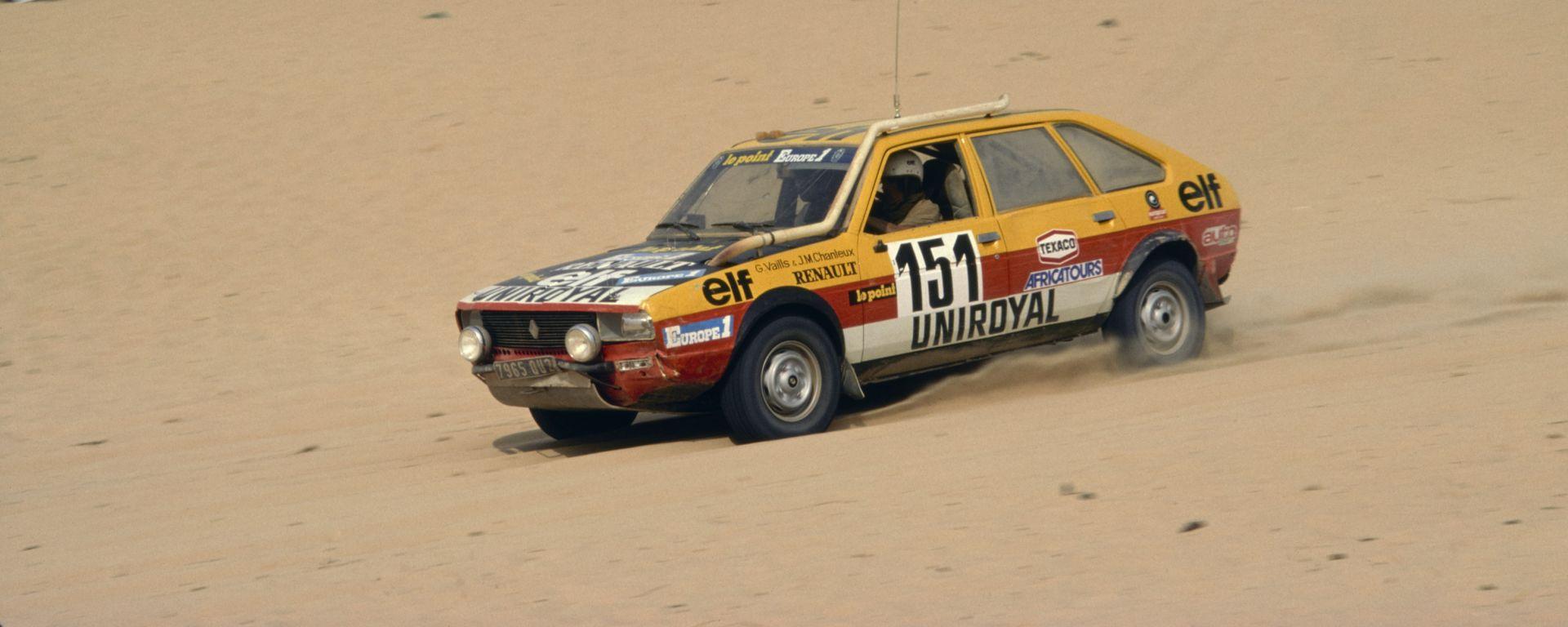 Dakar, la Renault 20 Turbo 4X4