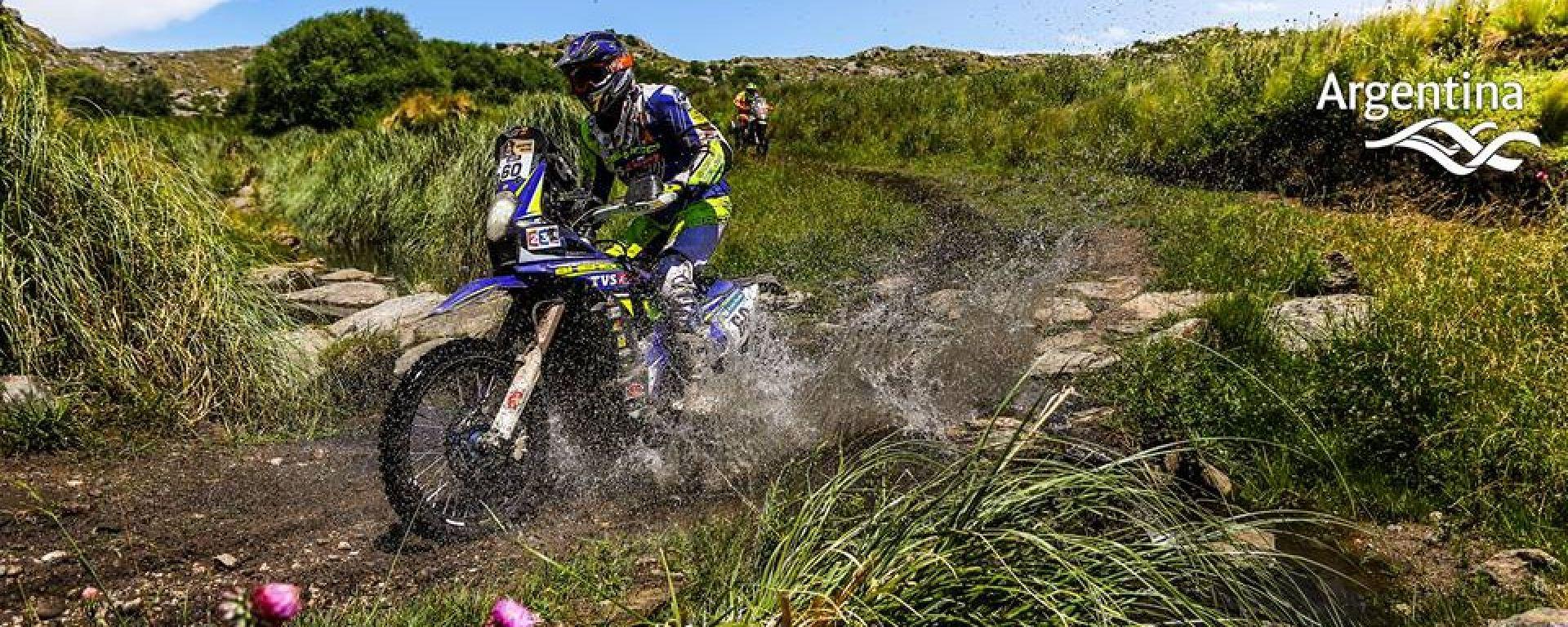 Dakar, moto - Argentina