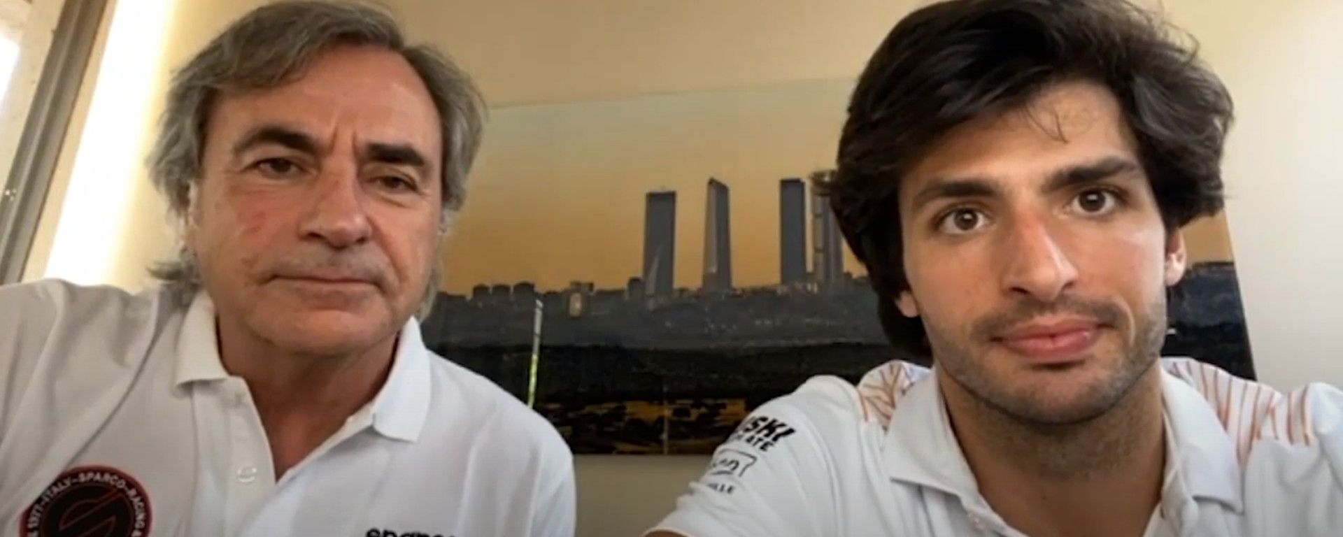 """Sainz Jr sfida il padre: """"In futuro forse in una Dakar"""""""