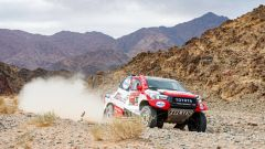 Dakar tappa 4, Fernando Alonso (Toyota)