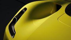 Dallara Stradale: dettaglio del faro anteriore