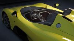 Dallara Stradale: dettaglio del volante