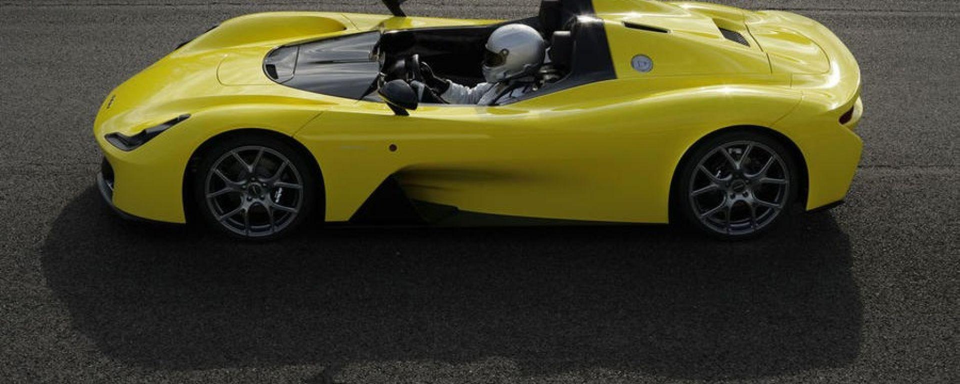 Dallara Stradale: la silhouette