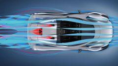 Dallara Stradale: lo studio aerodinamico dall'alto