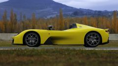 Dallara Stradale: vista laterale