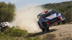 Dani Sordo, il vincitore dello shakedown nel Rally Italia Sardegna