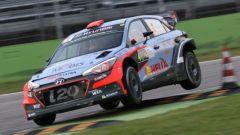 Dani Sordo sulla sua Hyundai i20 WRC
