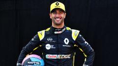 Daniel Ricciardo al via della stagione 2019