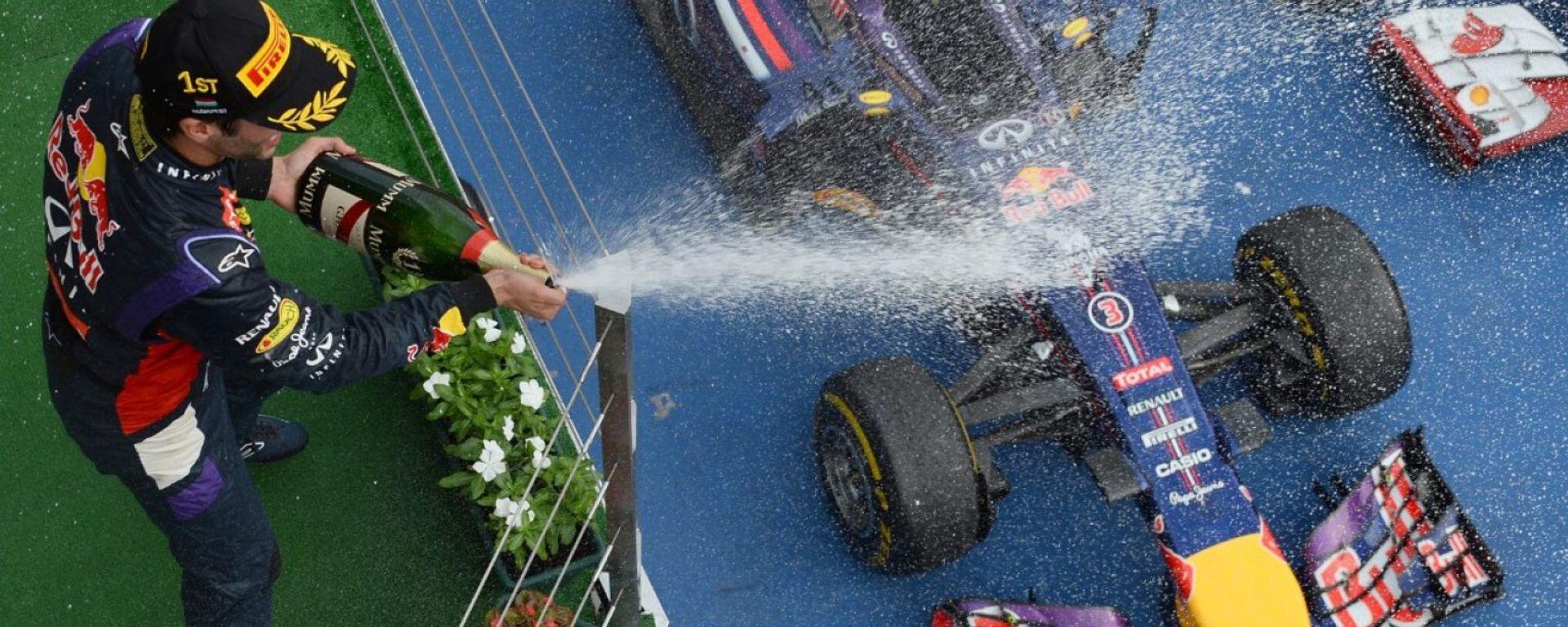 Daniel Ricciardo - GP Ungheria 2014