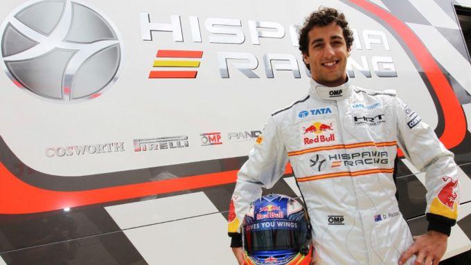 Daniel Ricciardo - Hispania Racing F1 Team (HRT) 2011
