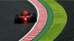 Daniel Ricciardo in azione a Suzuka