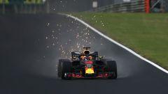 Daniel Ricciardo in azione con la Red Bull